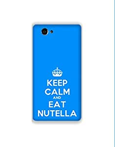 Sony Xperia Z3 Compact nkt01 (80) Mobile Case from Mott2 - Keep Clam and Eat ... (Limited Time Offers,Please Check the Details Below)