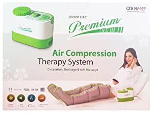 Dr Life 3 Premium Air Compression Therapy System Massager + Leg Cuffs Only... by Doctor Life