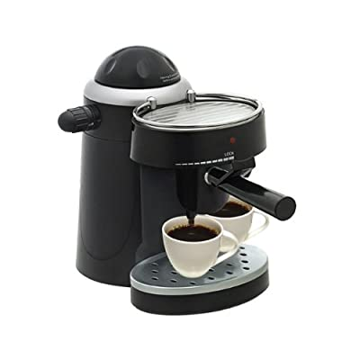 Bajaj Majesty CEX10 4-6 Cups 750-Watt Cappuccino Coffee Maker (Black)