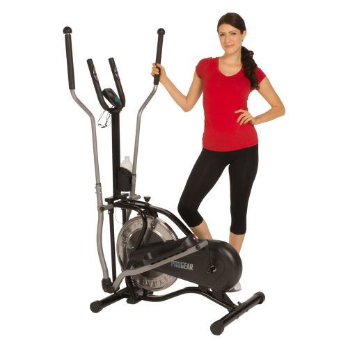 ProGear 500 LS Flywheel Drive Energy Elliptical with Heart Pulse Sensors