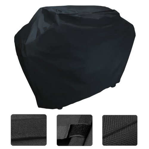Review Of KHOMO Black Waterproof Heavy Duty BBQ Grill Cover - Medium 58 x 24 x 48 - Different Sizes ...
