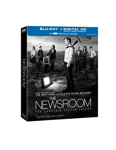 Blu-ray : The Newsroom: The Complete Second Season (Boxed Set, Full Frame, Ultraviolet Digital Copy, Digital Theater System, AC-3)