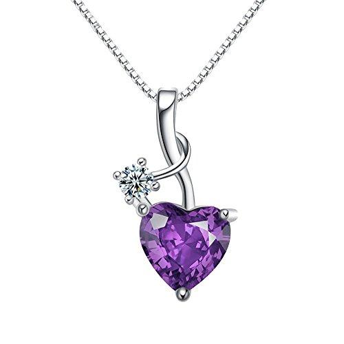 mode-simple-elegant-cisele-argent-violet-zircone-en-forme-de-coeur-collier-pendentif-de-femmes-pende