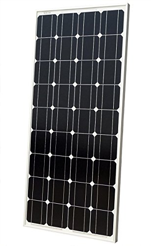 100W Solar Panel 100 Watts 12 Volt Monocrystalline Photovoltaic PV Solar Module 12V Battery Charging