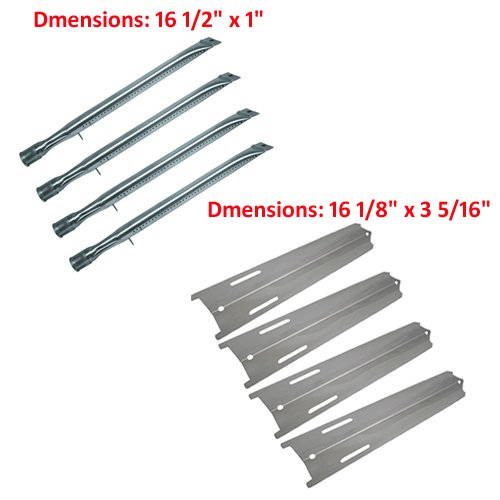 Bbq Grillware Gsc2418, Gsc2418N Repair Replacement Grill Heat Plate & Burner (Bbq Parts # 12411, 92411)