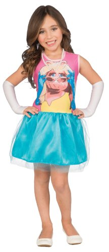 Muppets Girls 4-6 Dress-Up Costume Tutu Set, Miss Piggy
