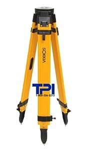 Sokkia Dual Lock Wood Fiberglass Tripod,gps,total Station,surveying,topcon,trimble by SOKKIA