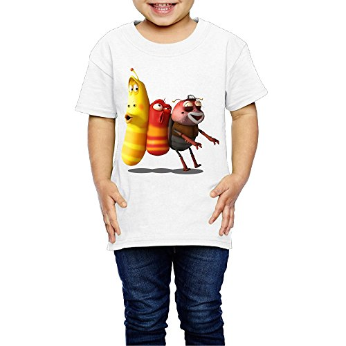 kim-lennon-funny-worms-short-sleeve-youth-t-shirt-new-style-5-6-toddler-white