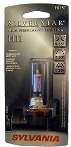 H11ST Sylvania Silverstar Headlight Bulb H11 ST
