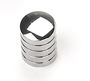 Laurey 26226 Cabinet Hardware 5/8-Inch Cylinder Knob, Polished Chrome