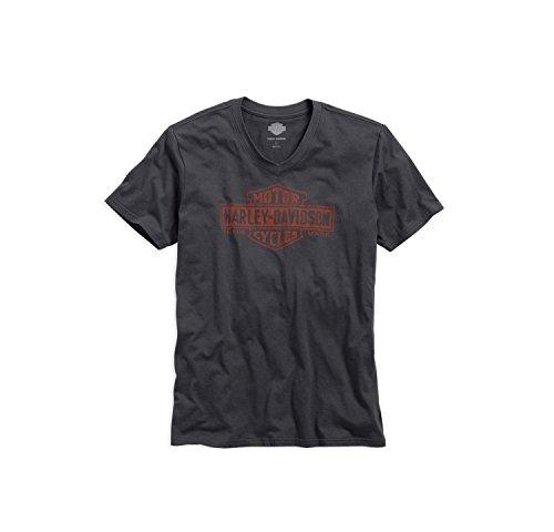 harley-davidson-trademark-logo-v-neck-tee-99042-16vm-herren-shirt-grau-l