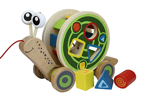 Hape-Walk-A-Long-Snail-Wooden-Pull-Toy