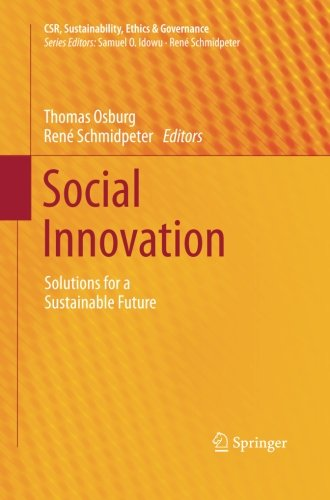 Social Innovation: Solutions for a Sustainable Future (CSR, Sustainability, Ethics & Governance)