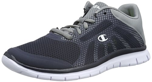 Champion - Low Cut Shoe ALPHA, Sneakers uomo, color Blu (New Navy / Dots 2433), talla 39.5