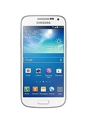 Samsung Galaxy S4 mini Smartphone débloqué 4G (Ecran: 4.3 pouces - 8 Go - Android 4.2.2 Jelly Bean) Blanc (Import Europe)