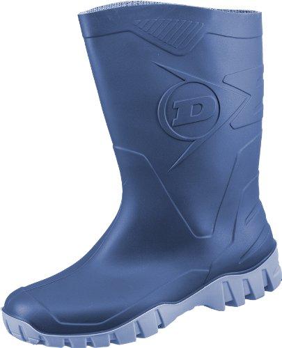 Dunlop - Stivali di gomma Uomo , Blu (blu), 44
