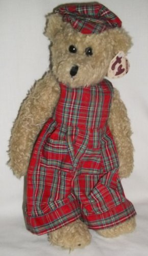 "Ty Attic Treasures Scotch 13"" Plush Bear"