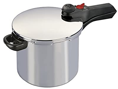 Manttra Quick & Easy 6 Quarts Aluminum Pressure Cooker from Mercantile International