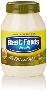 Best Foods Mayonnaise with Olive Oil, 30 Oz