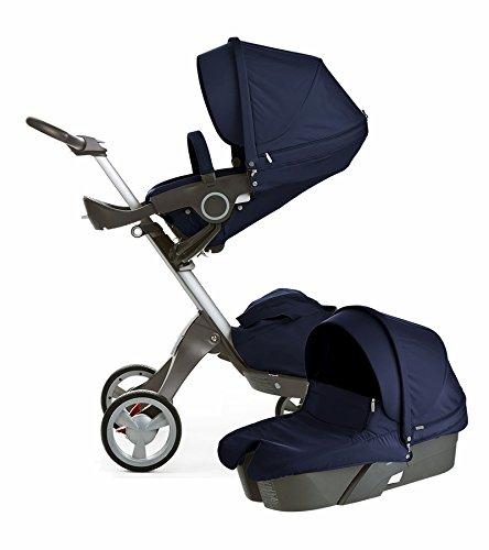 Stokke-Xplory-Newborn-Stroller-Deep-Blue