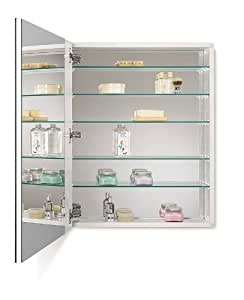 medicine cabinet with beveled mirror 24 inch by 30 inch home