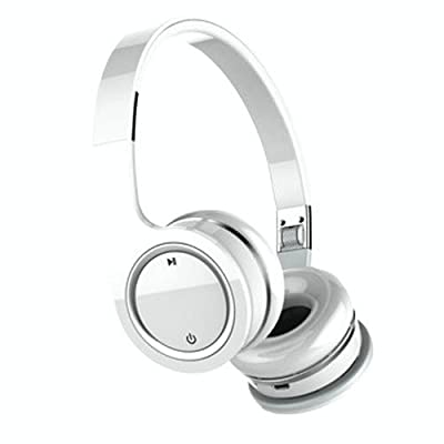 Nakamichi BTHP03 Series Bluetooth On-The Ear Headphones, Black UPC# 8886466381387 - Bluetooth Headset