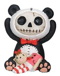 "Furry Bones - Furry Bones Panda - Cold Cast Resin - 2.5"" Height"