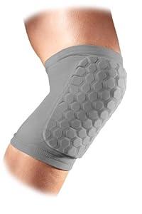 McDavid Sports Medicine 6440 Hex Knee Elbow Shin Pad, Medium, Grey by McDavid Sports Medicine