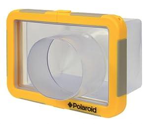 Polaroid Dive-Rated Large Waterproof Camera Housing For The Canon Powershot G1 X, G15, G12, G11, G10, G9, G7, SX500, SX260, SX240, SX230, SX220, SX210, SX200, SX160, SX150, SX130, SX120, A1300, A810, SD4500 Digital Camera
