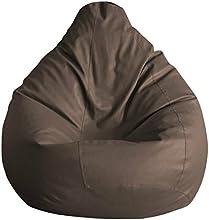 Fab Homez Bean Bag Cover (Brown, XXL)