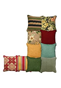 """16"""" Square Outdoor Toss Pillow (Farrah Sunshine,0) by BCO"""