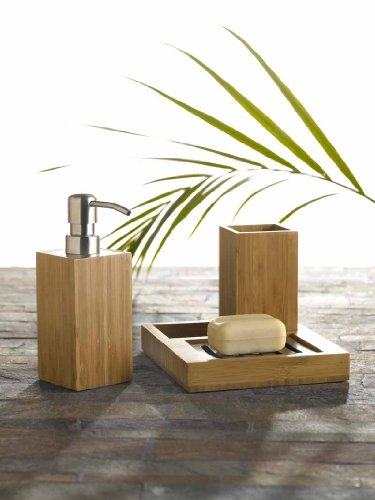 Bamboo - 3 Piece Bathroom Set