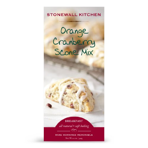 Stonewall Kitchen Orange Cranberry Scone with Orange Glaze, 12.9 Ounce (Scones Mix compare prices)