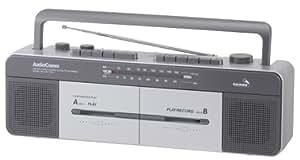 オーム電機 OHM Wラジカセ RCS-W577K-S 0879850