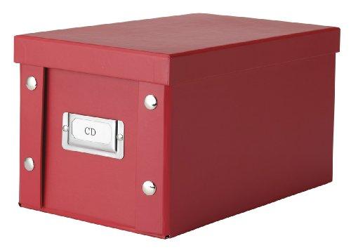 zeller-cd-box-wood-red-165-x-28-x-15-cm