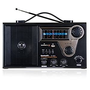 Portable Radio with Rechargeable Battery