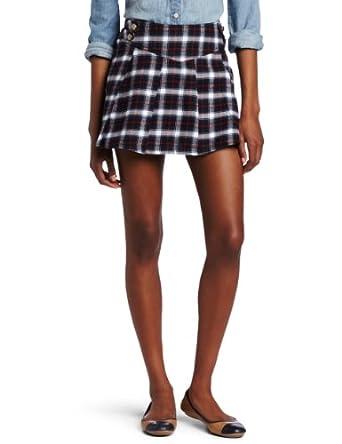 southpole juniors plaid school pleated skirt navy 7