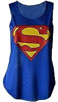 NEW LADIES WOMENS GIRL SUPERMAN,BATMAN,COCA COLA LOGO PRINTED CROP TOP T-SHIRT VEST TEE SIZE S/M(8-10),M/L(12-14)