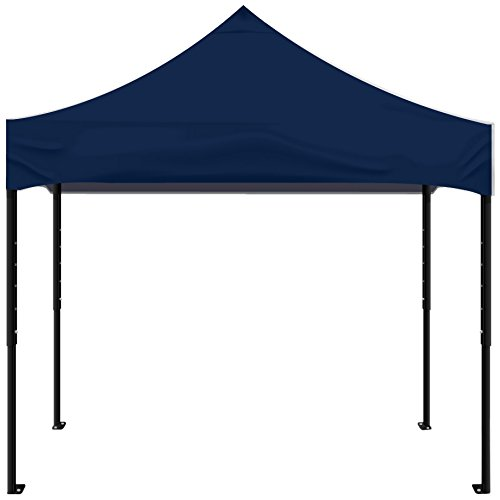Kd Kanopy Psk100Nb Party Shade Steel Frame Indoor/Outdoor Portable Canopy, 5 By 5-Feet, Navy Blue