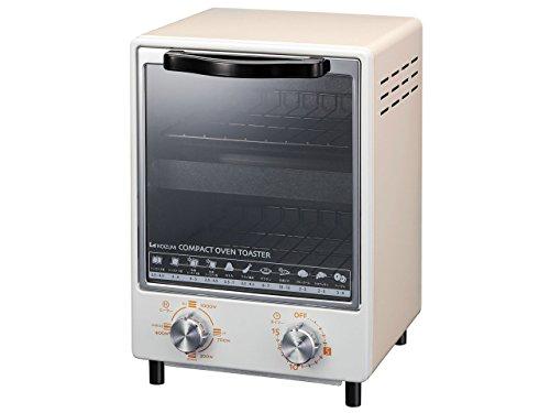 KOIZUMI(コイズミ) 【縦型2段 スリム型】オーブントースター 【1000W】 クリーム KOS-1014/C