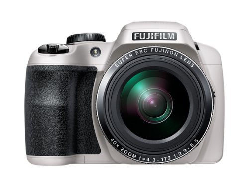 Fujifilm FinePix S8200 Digital Camera - White (16.2 MP Black Friday & Cyber Monday 2014