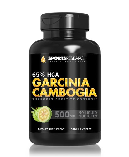 Pure Garcinia Cambogia Extract With 65% Hca; Made In Usa; Infused With Coconut Oil For Better Absorption; 90 Liquid Softgels.