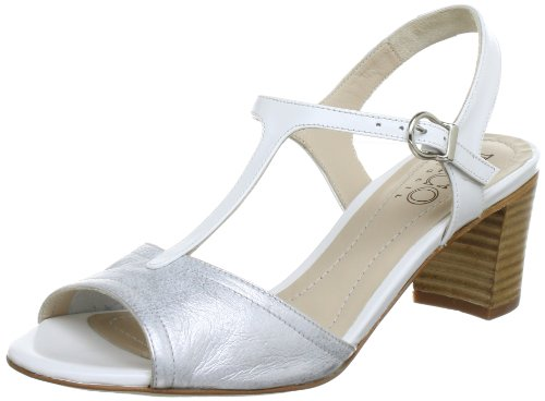 Paco Gil P-2395, Sandali col tacco donna, Argento (Silber (ARGENTO)), 39