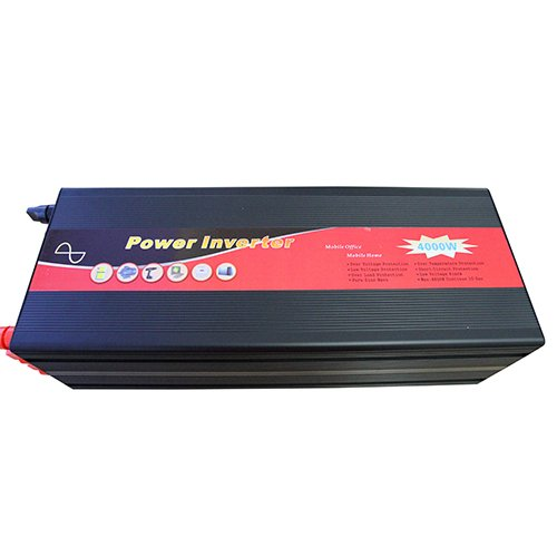 Gtsun 4000W Pure Sine Wave Power Inverter 8000 Peak Power Converts 24V Dc To Ac With Usb Output