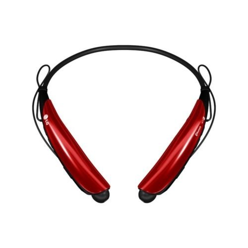 Lg Tone Protm Hbs-750 Bluetooth 3.0 Premium Wireless Stereo Headset, Headphone (Red)