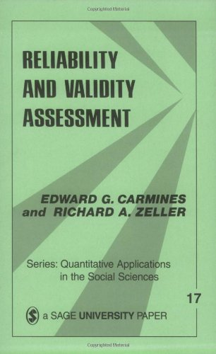 Reliability and Validity Assessment (Quantitative...
