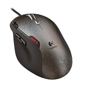 Logitech - G500-910-001262 - Gaming Mouse Souris filaire G500 Reglage du poids Roulette de défilement double mode 10 boutons programmables - Noir