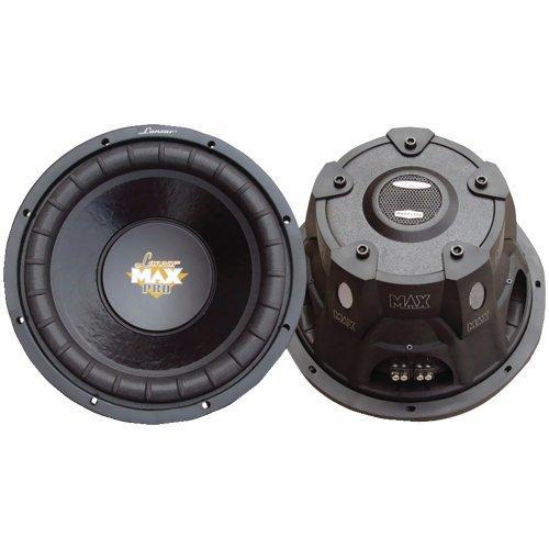 Lanzar Maxp104D Max Pro 10-Inch 1,200-Watt Small Enclosure Dual 4-Ohm Subwoofer