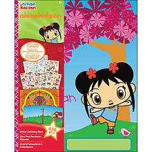 Nickelodeon Ni Hao, Kai-lan Sticker Collecting Book by EK Success