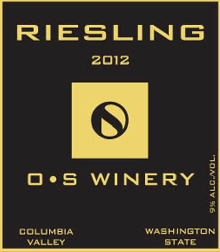 2012 O S Winery Riesling 750 Ml
